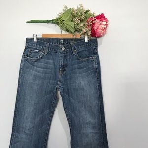 7 For All Mankind | Light Wash Bootcut Jeans SZ 34